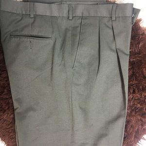 Perry Ellis green dress pants